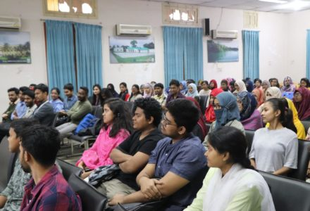 SAUCC orientation and MS Office certificate giving ceremony 2020
