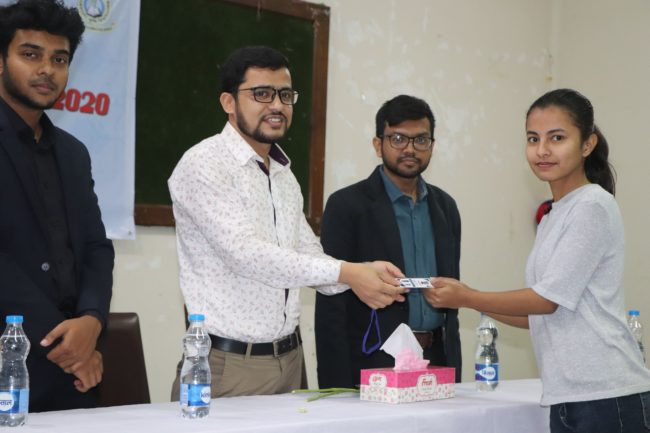 membership ID card distribution SAUCC orientation 2020